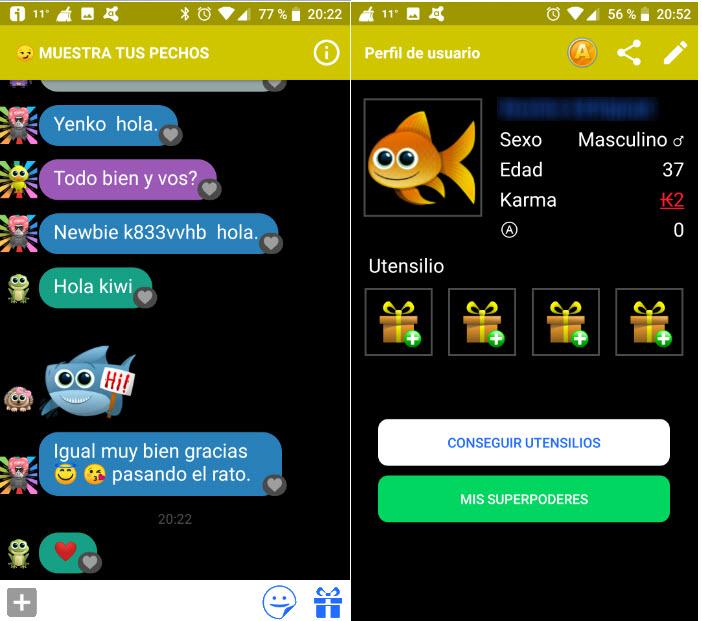 Antiland Opiniones 2020 de la App de Chat Anónimo en español
