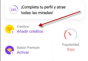 Cómo conseguir créditos en Badoo gratis