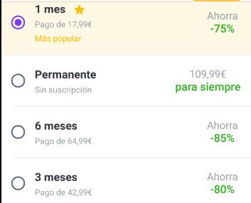 cuanto cuesta badoo premium España